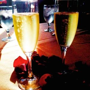 Dani - Champagne celebration
